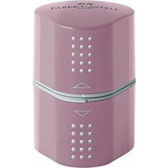 Faber Castell Ξύστρα Grip 2001 Τριπλή ροζ 183804