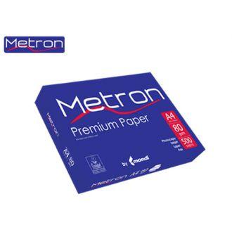 Metron Χαρτί Εκτύπωσης Α4 80gr 500 Φύλλων Λευκό