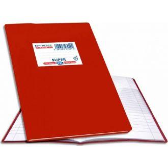Skag Τετράδιο εξηγήσεων Α5 Ριγέ 50Φ Κόκκινο 230292