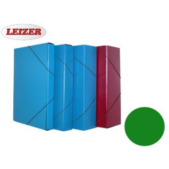 Leizer κουτί λάστιχο fiber 25X35 ράχη 8 εκ. Πράσινο (822.208G)