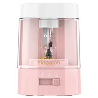 Deli επιτραπέζια ξύστρα ηλεκτρική Macaron pastel Coral Pink (EH500)