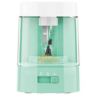 Deli επιτραπέζια ξύστρα ηλεκτρική Macaron pastel Mint Green (EH500)