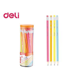 Deli Scribe μολύβι με γόμα φωσφοριζέ 231.50806