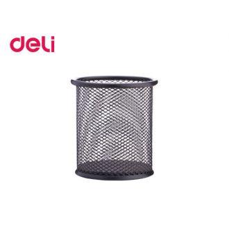 Deli Μολυβοθήκη μεταλλική 9x10 Μαύρο