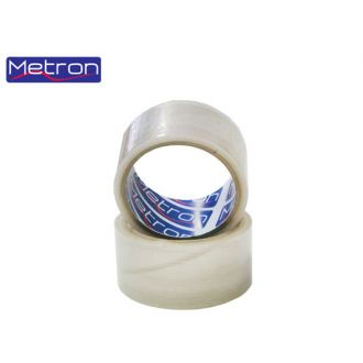 Metron Ταινία συσκευασίας 48x50m Θορυβώδης διάφανη
