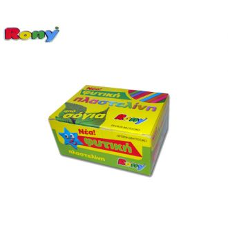 Rony φυτική πλαστελίνη από σόγια 11 χρώματα 223.551