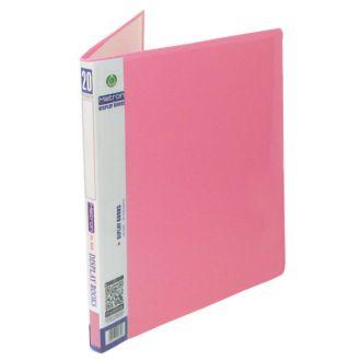 Metron σουπλ 20 θέσεων Α4 pastel Ροζ (907.20SP)