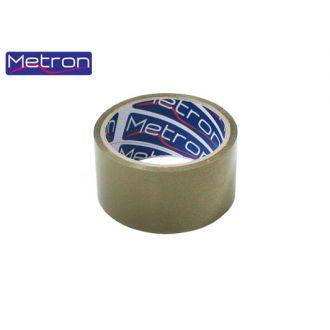 Metron Ταινία συσκευασίας 48x50m Αθόρυβη Κράφτ