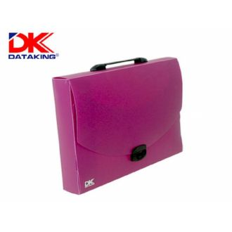 DK τσάντα μεταφοράς σχεδίου  33x45x5 εκ. Μωβ