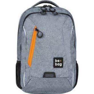 BE BAG σακίδιο be urban grey melang 24800099