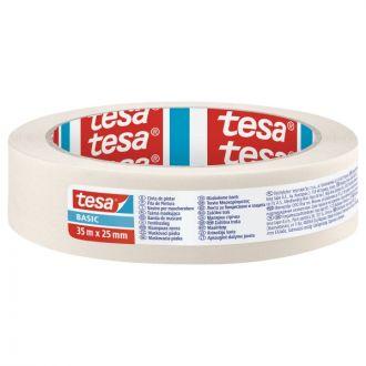 Tesa Basic Χαρτοταινία 25mm x 35m
