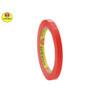 Anker ταινία συσκευασίας σακουλοποιίας 9mmX60m 43720 Κόκκινη