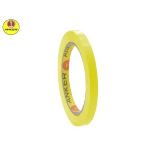 Anker ταινία συσκευασίας σακουλοποιίας 9mmX60m 43720 Κίτρινη