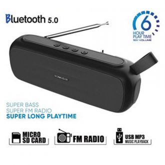 Sonic Gear Ηχείο FM Radio Bluetooth 5.0 Super Bass B.Grey