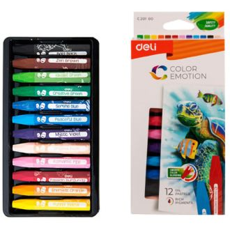 Deli λαδοπαστέλ  Color Emotion 12 χρώματα (231.941886)