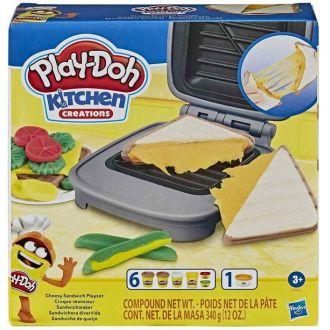 HASBRO playdoh cheesy sandwich playset