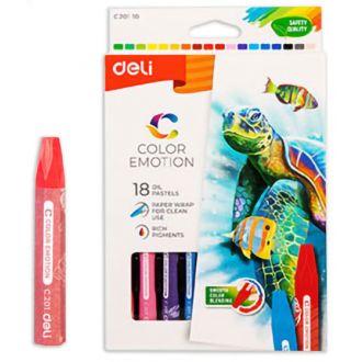 Deli λαδοπαστέλ Color Emotion 18χρώματα EC20110 (231.941893)