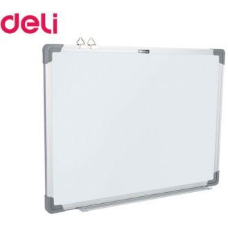 Deli πίνακας λευκός μαγνητικός με μεταλλικό πλαίσιο 45x60cm