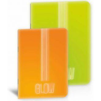 GIPTA τετράδιο καρφίτσα Α4 glow neon 3-69-51