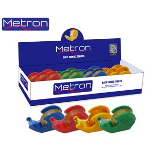 Metron Βάση σελοτεϊπ σαλίγκαρος γεμάτη Διάφορα χρώματα