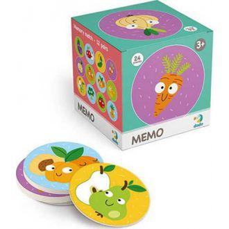 DODO memo φρούτα και λαχανικά 24τμχ.