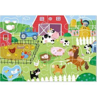 DODO puzzle στη φάρμα 18τμχ.