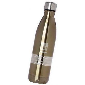 Ecolife μεταλλικό μπουκάλι θερμός  750ml Μπρονζέ 33-BO-3003