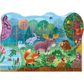 DODO puzzle ζωάκια στο δάσος 60τμχ.