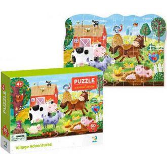 DODO puzzle ζώα της φάρμας 60τμχ.