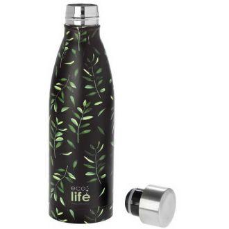 Ecolife μεταλλικό μπουκάλι θερμός  500ml Olive 33-BO-3017