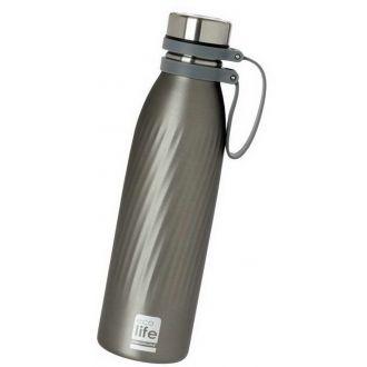 Ecolife μεταλλικό μπουκάλι θερμός  500ml Cool Grey 33-BO-3030
