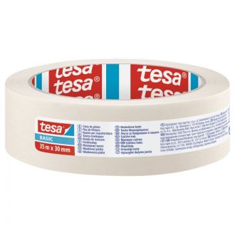Tesa Basic Χαρτοταινία 30mm x 35m