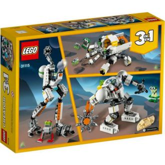 Lego 31115 Creator: 3 In 1 Διαστημικό Ρομπότ Εξόρυξης