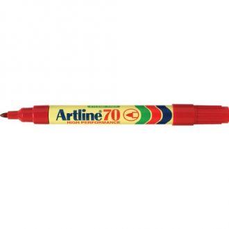Artline 70 Μαρκαδόρος ανεξίτηλος 1.5mm Κόκκινο (EK-70)