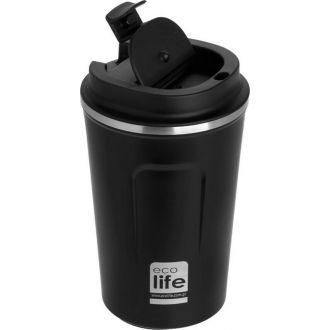 Ecolife coffee thermos 370ml Dark Grey 33-BO-4105