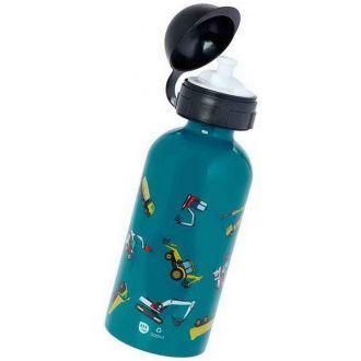 Ecolife μεταλλικό μπουκάλι παιδικό  500ml Trucks 33-BO-2012