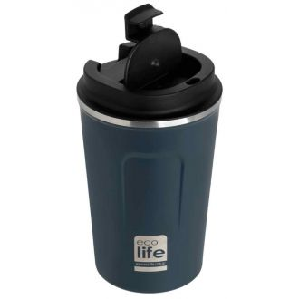 Ecolife coffee thermos 370ml Dark Blue 33-BO-4106
