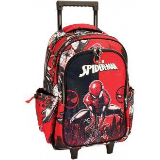 GIM Τσάντα πλάτης 3 θέσεων Spiderman Comic  337-77074