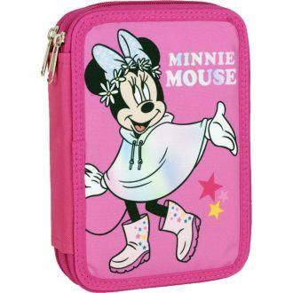 Gim κασετίνα διπλή Minnie Nature