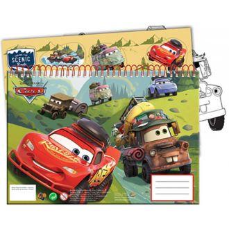 GIM μπλοκ ζωγραφικής 23x33 Cars 40Φύλλα + stickers 341-48416