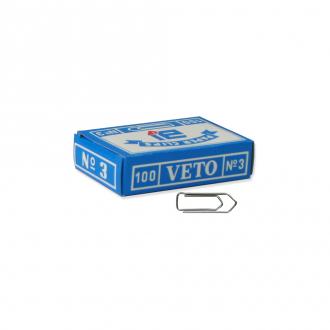 Veto Συνδετήρες No3 100τμχ 30mm
