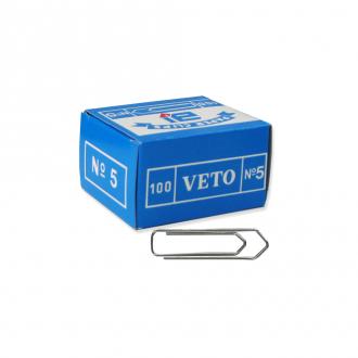 Veto Συνδετήρες No5 100τμχ 47mm