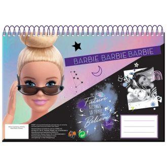 GIM μπλοκ ζωγραφικής A4 Barbie 30Φύλλα 349-68413