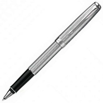 Parker Στυλό Sonnet Chisselled Silvery St. CT RollerBall (1108.5101.11)