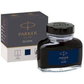 Parker μπουκάλι μελάνης Quink 57ml Blue Black (1185.2382.52)