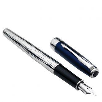 Parker Πένα Sonnet Silver Blue Gift edition Fountain Pen (1107.1101.16)