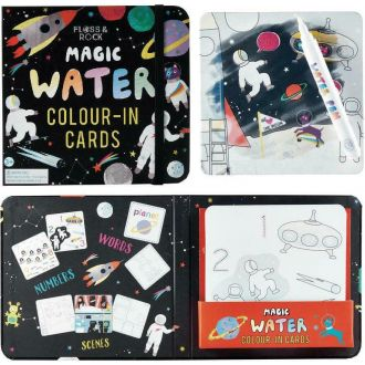 Floss and Rock Magic Colour-In Cards Space 39P3517