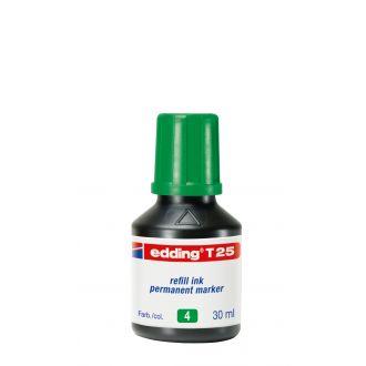 edding Τ-25 Ανεξίτηλο μελάνι 30ml Πράσινο