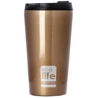 Ecolife coffee thermos 370ml Bronze 33-BO-4002