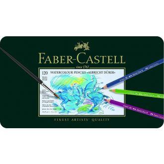 Faber - Castell Ξυλομπογίες ακουαρέλας σε μεταλλική κασετίνα πολυτελείας χοντρές 24τμχ (117524)